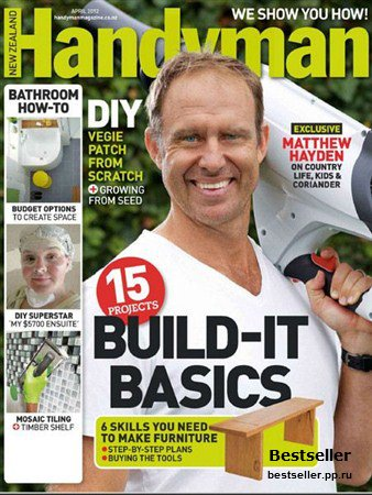 Handyman - April 2012 (New Zealand)