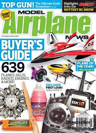 Model Airplane News - August 2012