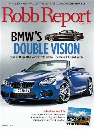 Robb Report - August 2012 (US)