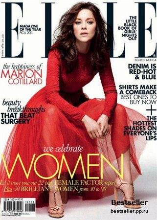 Elle - August 2012 (South Africa)