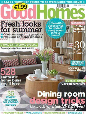 GoodHomes - June 2011 (UK)