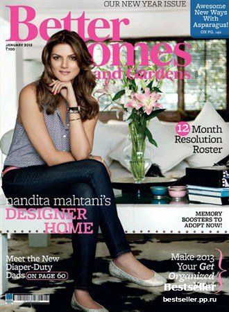 Better Homes and Gardens - January 2013 (India)