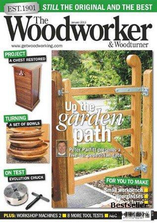 The Woodworker & Woodturner - January 2013