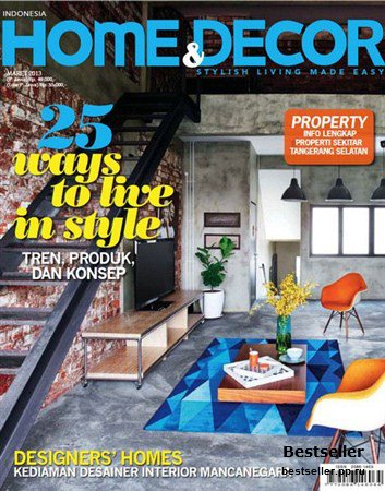 Home & Decor - Maret 2013 (Indonesia)