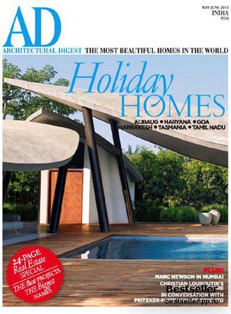 Architectural Digest - May/June 2013 (India)