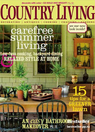 Country Living - August 2008 (US)