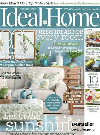 Ideal Home - July 2013 (UK)