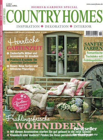 Country Homes - Marz/April 2013 (Deutsch)