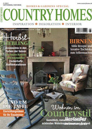 Country Homes - September/Oktober 2012 (Deutsch)