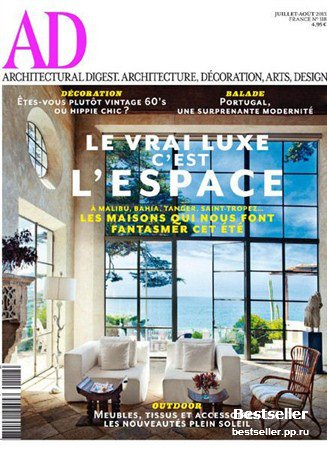 Architectural Digest - Juillet/Aout 2013 (France)