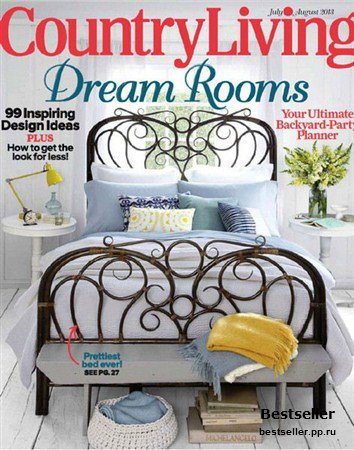 Country Living - July/August 2013 (US)